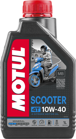Scooter  4T 10W-40 MB